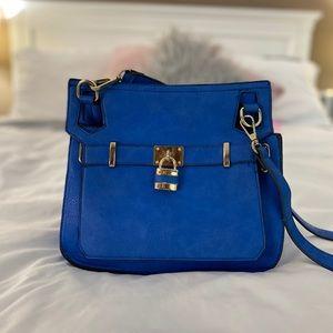 Handbags - Electric Blue Cross Body Bag